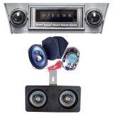1966-1967 Chevelle Ground Up Premium Sound System Kit, with A/C