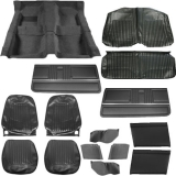 1967 Camaro Convertible Super Interior Kit, Standard Black