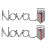 1966-1967 Nova Quarter Panel Emblem, Chevy 2