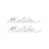 1964 Chevelle Malibu Quarter Panel Emblems