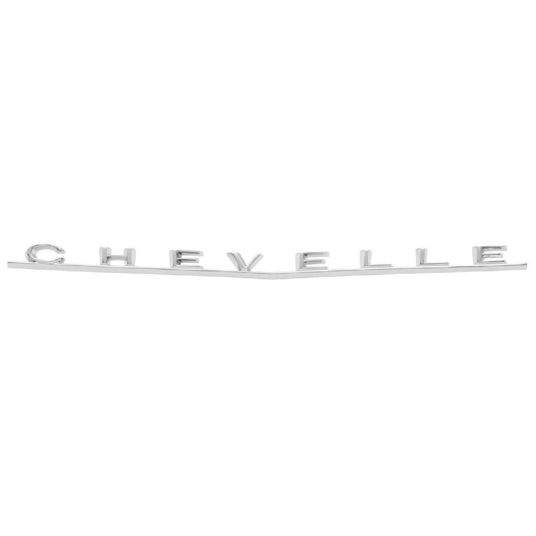 1966 Chevelle Rear Trunk lid Emblem
