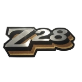 1978 Camaro Z28 Fuel Door Emblem Gold