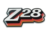 1978 Chevrolet Z28 Fuel Door Emblem Orange