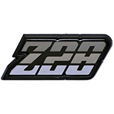 1980-1981 Camaro Z/28 Fuel Door Emblem Charcoal