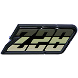 1980-1981 Camaro Z/28 Fuel Door Emblem Green