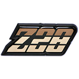 1980-1981 Camaro Z/28 Fuel Door Emblem Gold