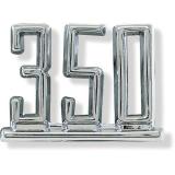 1967 Chevrolet 350 Fender Emblem