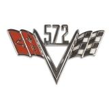 Universal Crossflag Emblem 572