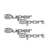 1967 Chevelle Super Sport Quarter Panel Emblems