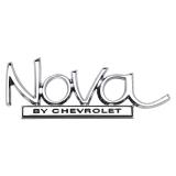 1969-1972 Nova Rear Emblem, Nova By Chevrolet