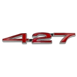 Camaro Supercar 427 Emblem GM 3901932
