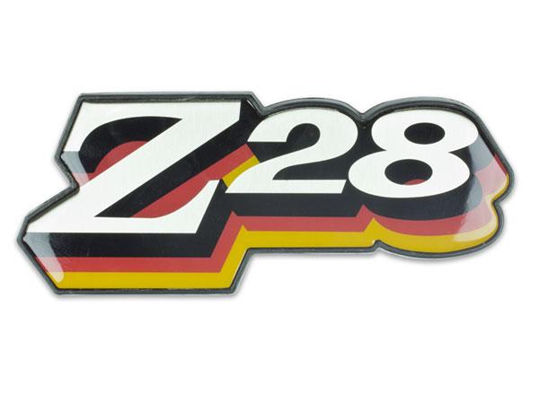 1978 Chevrolet Z28 Grille Emblem Orange