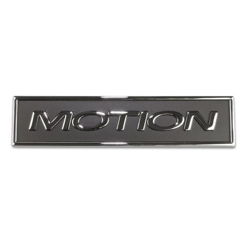 Universal Baldwin Motion Chrome Emblem