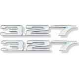 1968 Camaro 327 Fender Emblems