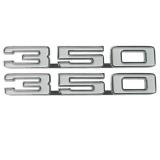 1968 Camaro 350 Fender Emblems