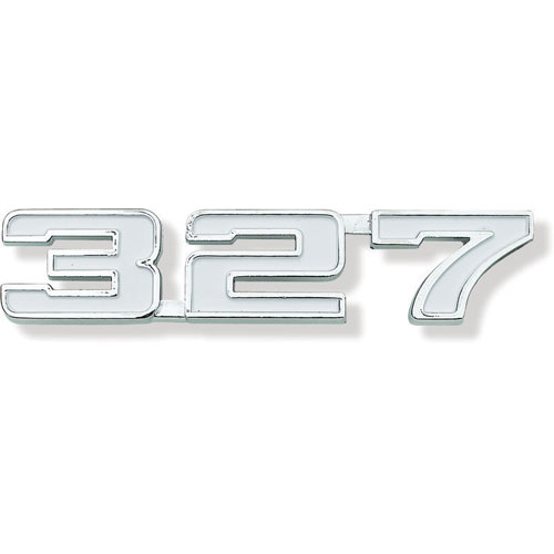 1969 Camaro 327 Fender Emblem