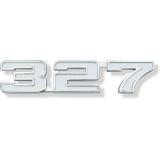 1969 Chevrolet 327 Fender Emblem