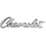 1967 Chevrolet Chevrolet Script Header Panel / Trunk Emblem
