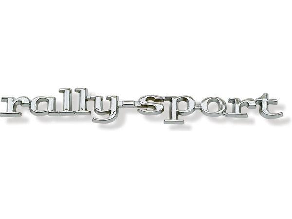1968 Camaro Rally Sport Fender Emblem