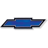 1969 Chevrolet Blue Bowtie Tail Panel Emblem