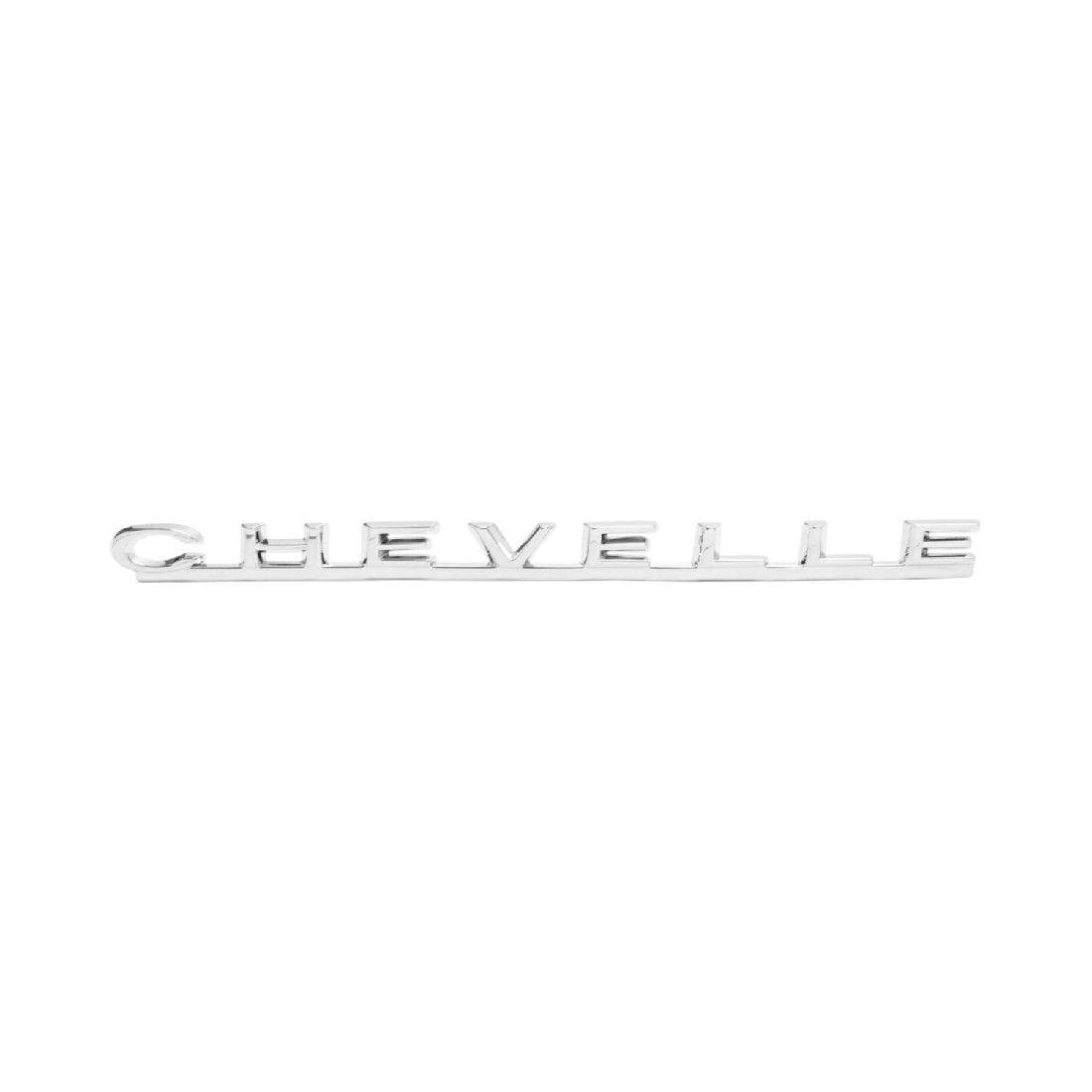 1967 Chevelle Chevrolet Hood Emblem