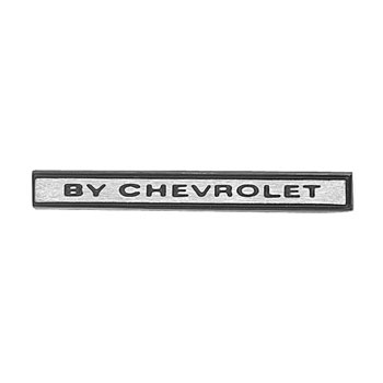 1969 Chevelle By Chevrolet Header Panel Emblem