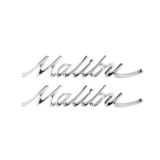 1966-1967 Chevelle Malibu Quarter Panel Emblems
