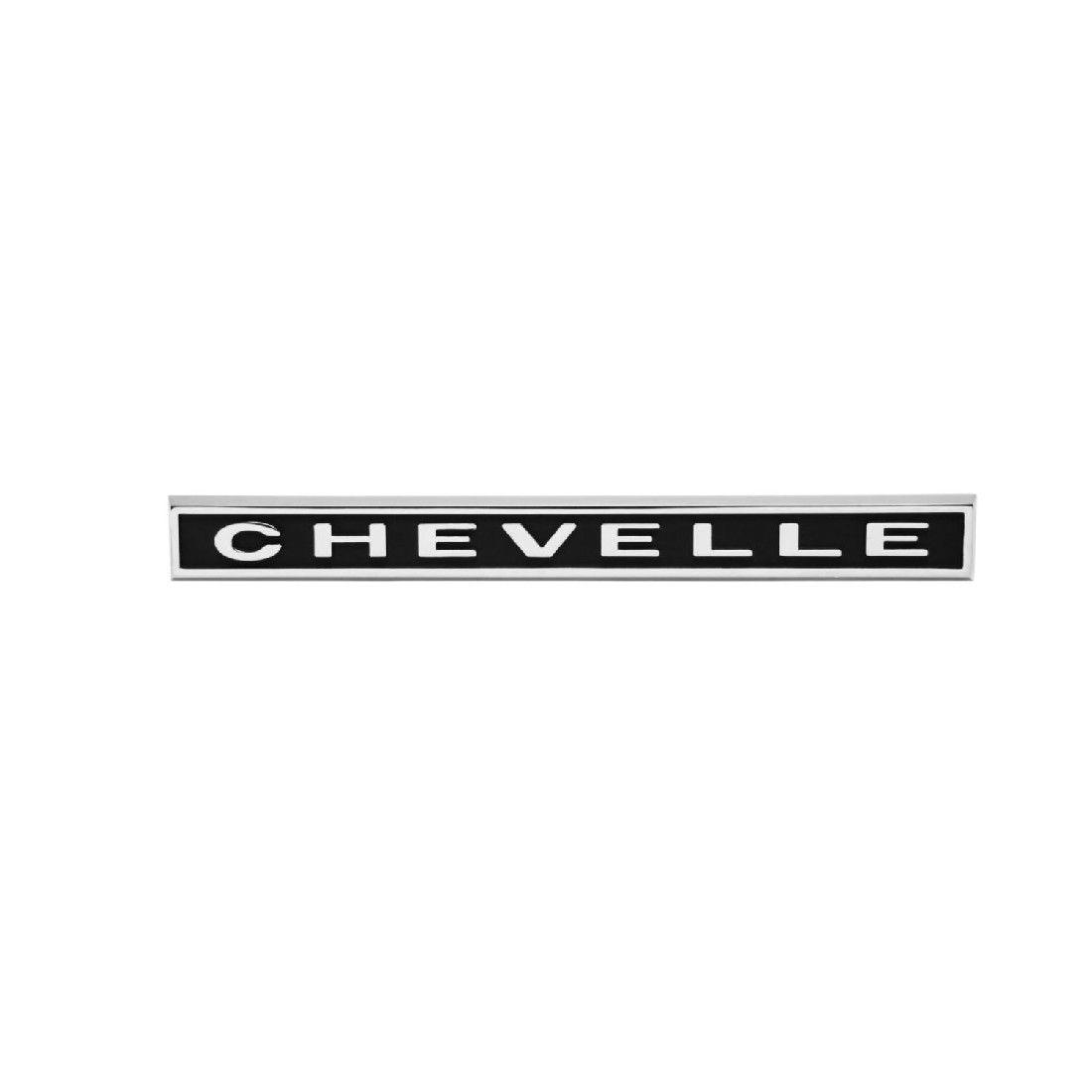 1967 Chevelle Trunk Emblem