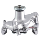 1969-1996 Camaro Small Block Super Cool Smoothie Long Water Pump, Polished Aluminum