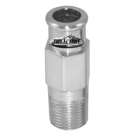 Chevy Chrome Heater Hose Nipple 3/4 Inch, Long: 4450A