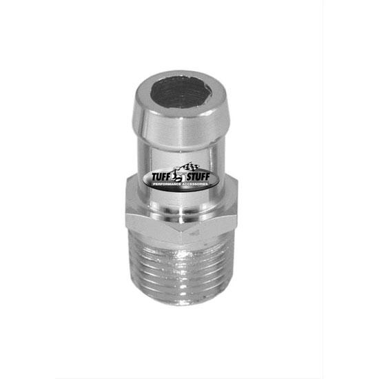 Chevy Chrome Heater Hose Nipple 5/8 Inch, Short: 4450C