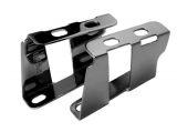 1964 Chevelle Booster Brackets, Black Chrome