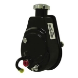 Chevy Saginaw Style Power Steering Pump, Universal, Black, 1200 PSI