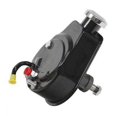 1970-1974 Camaro Power Steering Pump, Black: 6183B