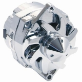 1971-1979 Nova Silver Bullet 100 Amp 1 Wire Alternator, Chrome
