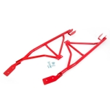 1993-2002 Camaro Coupe UMI 3-Point Subframe Connectors, Weld In, Red: 2003-R