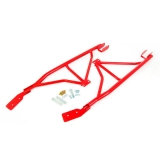 1993-2002 Camaro Coupe UMI 3-Point Subframe Connectors, Bolt In, Red: 2004-R