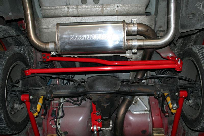 1982 2002 Camaro Umi Panhard Bar Relocation Kit Red