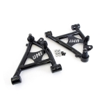 1982-1992 Camaro UMI Front Lower A-Arms, Polyurethane Bushings, Coilovers Only - Black: 2051-B