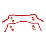 1982-2002 Camaro UMI Tubular Sway Bar Kit, Red: 211213-R