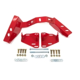 1982-1992 Camaro UMI LSX Engine Mounts & T56 Trans Crossmember Kit, Factory K-members Only, Red
