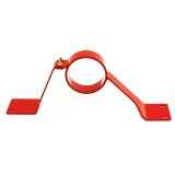 1993-2002 Camaro UMI Drive Shaft Safety Loop, Red: 2240-R