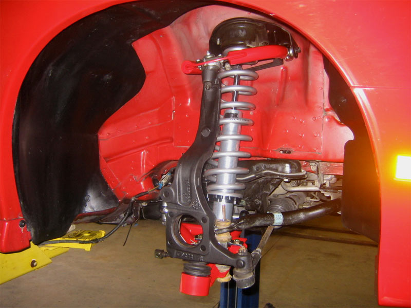 1993 2002 Camaro Umi Front Upper Control Arms Adjustable Red
