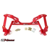 1982-1992 Camaro UMI Tubular K-Member for Coilovers - Red: 2402-R