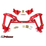 1982-1992 Camaro UMI Tubular K-Member for LSX Engines & Coilovers - Red: 2404-R