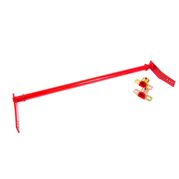 2010-2011 Camaro UMI Rear Sway Bar, Fabricated, Adjustable, Red: 2513-R