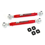 2010-2014 Camaro UMI Adjustable Toe Rods, Rear, Chromoly, Rod Ends, Red