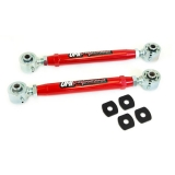 2010-2014 Camaro UMI Adjustable Toe Rods, Rear, Chromoly, Roto-Joints, Red