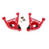 1970-1981 Camaro UMI Front Lower Control Arms, Polyurethane Bushings, Red