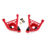 1970-1981 Camaro UMI Front Lower Control Arms, Delrin Bushings, Red